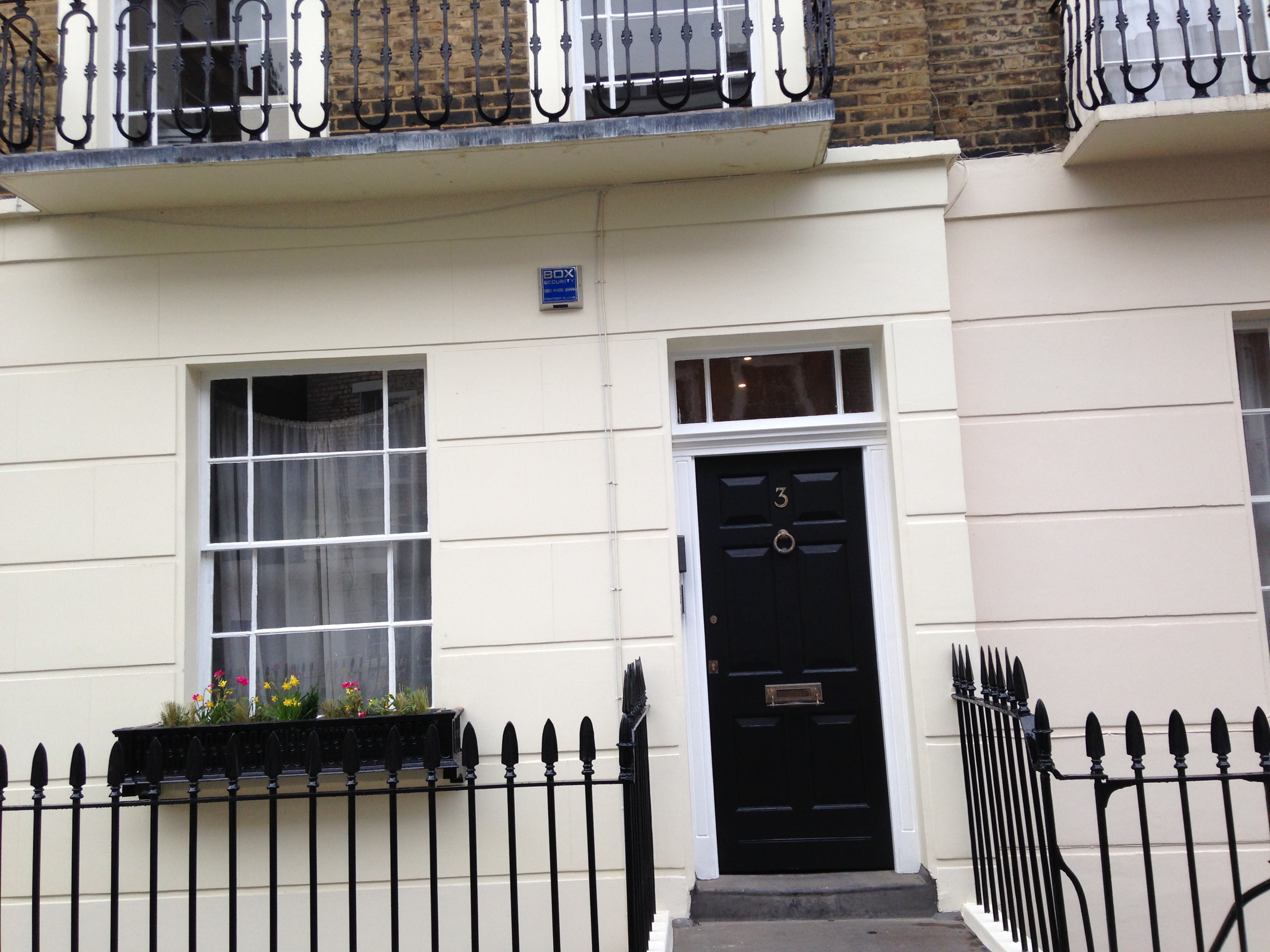 Picture Gallery - BOX Security Ltd - Alarm System Installation  - Charlwood Place - Pimlico.